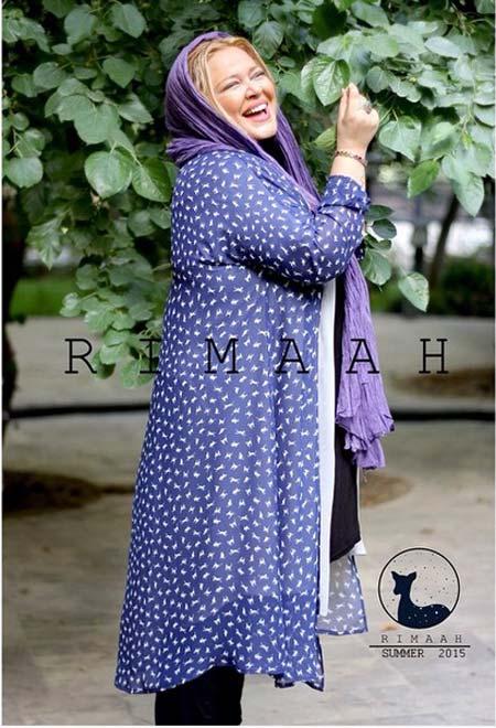 عکس های داغ بازیگران زن ایرانی به عنوان مدلینگ مانتو