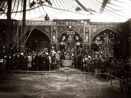 عکس های ناب عزاداری 120 سال پیش اصفهان