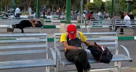 عکس های تکان دهنده یکی از پارک های تهران