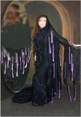 جنجال شوی چادرِ دختران مانکن در برج میلاد (عکس)