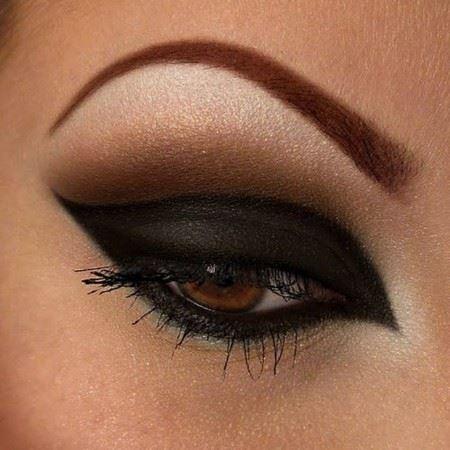 جدیدترین مدل آرایش زیبای چشم و ابرو 2016