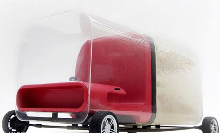 خودروی عجیبی که با معده گاو ساخته شد! (عکس)
