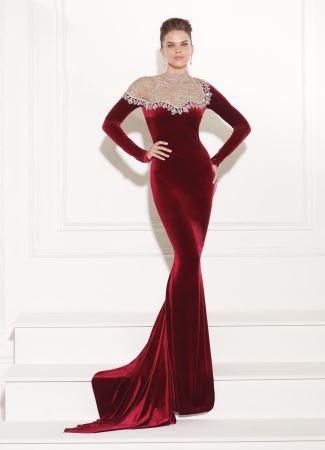 زنان زیبا با جدیدترین مدل لباس های مجلسی طرح ترکیه 2015