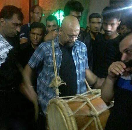عکس های عزاداری جناب خان