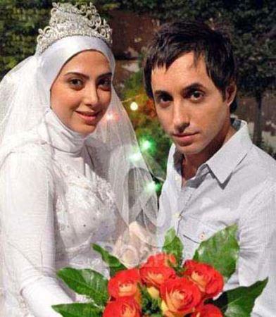 عکس های بازیگران محبوب در لباس عروس و دامادی