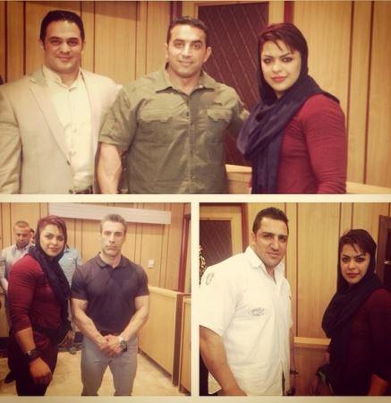 جذاب ترین دختر قهرمان پرورش ایران (عکس)