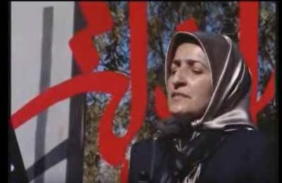 مداحی این زن برای مردان در عزاداری محرم (عکس)