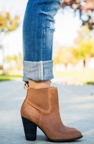 هماهنگی شلوار جین و کفش
