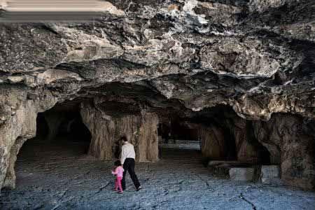 عکس هایی از زیباترین غار مصنوعی در ایران