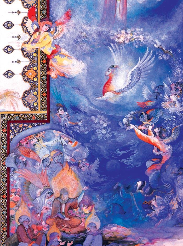 عکس های هنرمندانه از نقاشی مینیاتور ایرانی