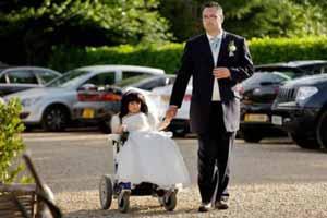 ازدواج دختر 80 سانتی با خوش استیل ترین پسر (عکس)