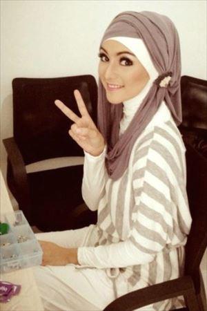 عکس های زیباترین دختران با حجاب