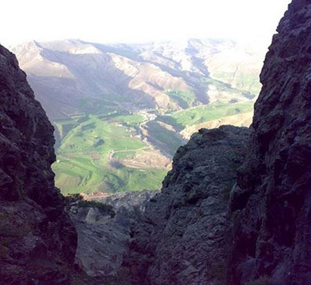 جهنم دره در آذربایجان غربی !!(عکس)
