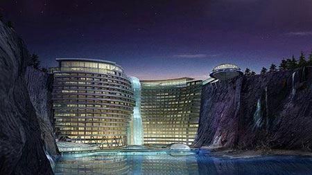 عکس های شگفت انگیز هتل هایی که رو نمایی می شوند