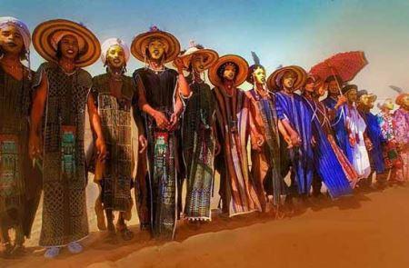 عکس های دیدنی مسابقه ملکه زیبایی قبایل آفریقایی
