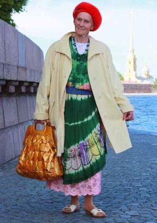 عکس های خوش تیپ ترین پیر زنان و پیرمردهای روس