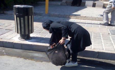 نذر تامل برانگیز این زن در ظهر عاشورا (عکس)