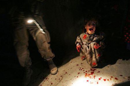 پدیده های وحشتناک و سنگدل جنگ (عکس 16+)