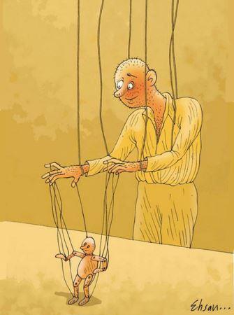 جذاب ترین کاریکاتورهای دیدنی احسان گنجی