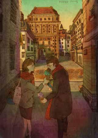 عاشقانه ترین لحظات زندگی به روایت نقاشی