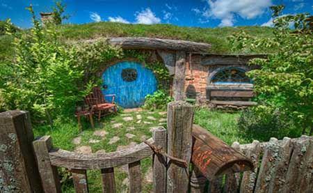 عکس های بکر از منحصر بفردترین روستای جهان