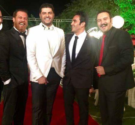 جشن عروسی سام درخشانی با حضور هنرمندان (عکس)