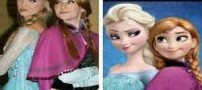 شباهت حیرت آور دخترانی مثل السا باربی معروف انیمیشن (عکس)