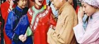 رسم عجیب دختر تازه عروس در چین (عکس)