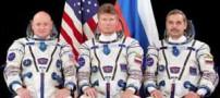 رکورد اقامت در فضا توسط این سه مرد شکسته شد (عکس)