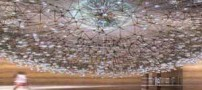 عکس های دیدنی قاصدک مجسمه با 3000 گوی شیشه ای !