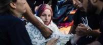 زایمان عجیب زن سوری در حال فرار از داعش (عکس)