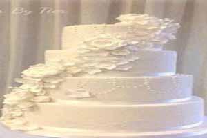 کیک عروسی عجیب این زوج وقتی به توافق نرسیدند (عکس)