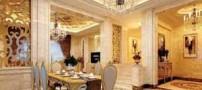 مدل دکوراسیون زیبا و طلایی خانه