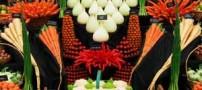 خوش ذوق ترین سبزی فروش ایرانی (عکس)