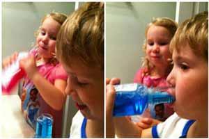 زمان استفاده از دهان شویه برای کودکان