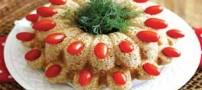 این بار کیک با گوشت بوقلمون درست کنید !