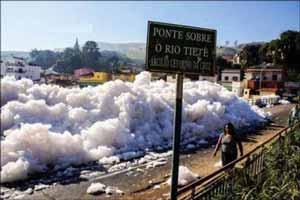 رویدادی باورنکردنی در دریاچه برزیل (عکس)