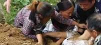 زنی که بدست مامور دولت در خیابان زنده به گور شد (عکس )