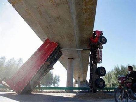 عکس های مسخره ترین تصادف های دنیا !
