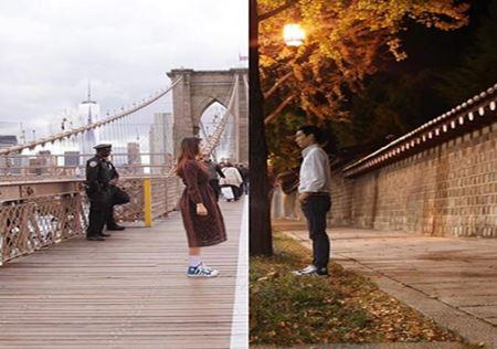 ارتباط عجیب این زوج فقط و فقط با عکس ! + عکس