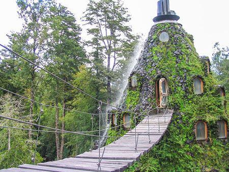 اقامتگاه جادویی و خیره کننده مونتانا (عکس)