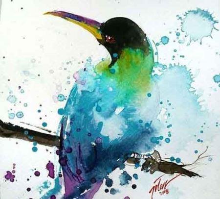 نقاشی هایی شادتر و زیباتر از زندگی