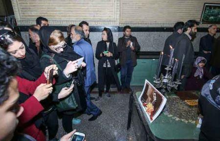 عکس های هنرمندان در مراسم سالگرد پاشایی