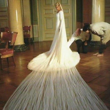 زشت و عجیب ترین مدل لباس عروس (عکس)