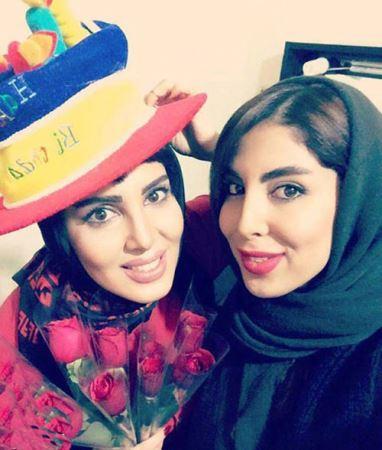 جشن تولد دیدنی لیلا بلوکات با رضا عطاران ! + عکس