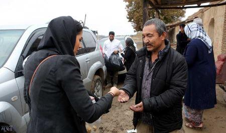حضور بازیگران معروف در مناطق محروم تهران + عکس