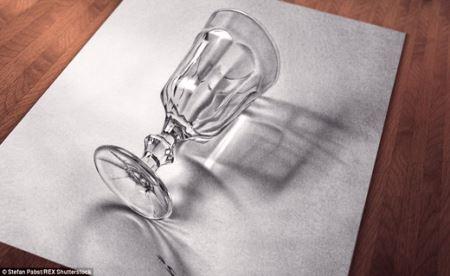 نقاشی های منحصر به فرد برابر با عکس