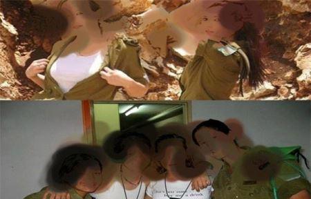 عکس های جنجالی تصویر احمدی نژاد بر پیراهن صهیونیست ها