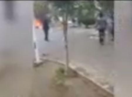 جزئیات آتش زدن افراد در پارک حقانی + عکس