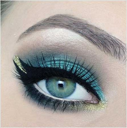 آموزش تصویری زیباترین مدل آرایش چشم